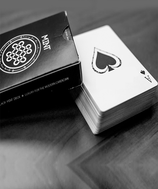 Mint Marked Playing Cards